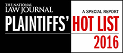 NLJ_Plaintiff Hotlist 2016